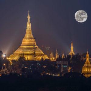 Shwedagon Yangon Myanmar