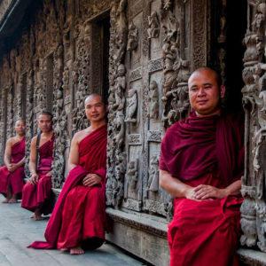 Golden Palace Monestry Mandalay