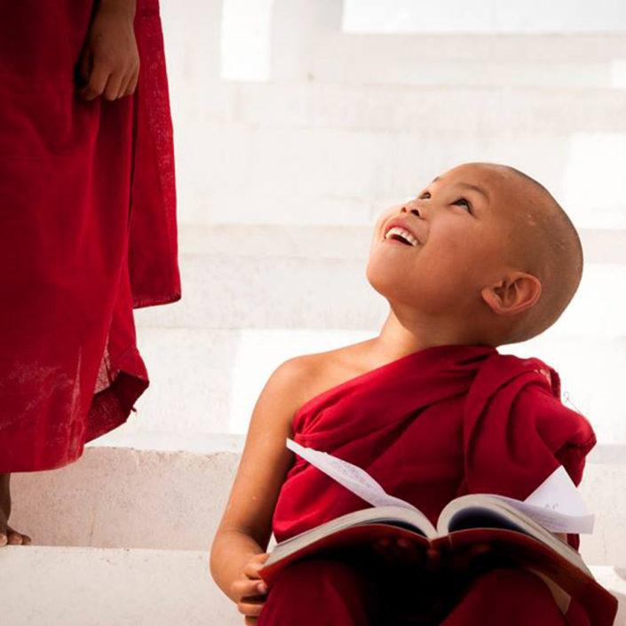 Buddhist Monks Myanmar Burma