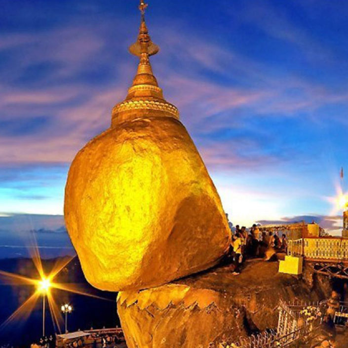 Golden Rock Myanmar Burma