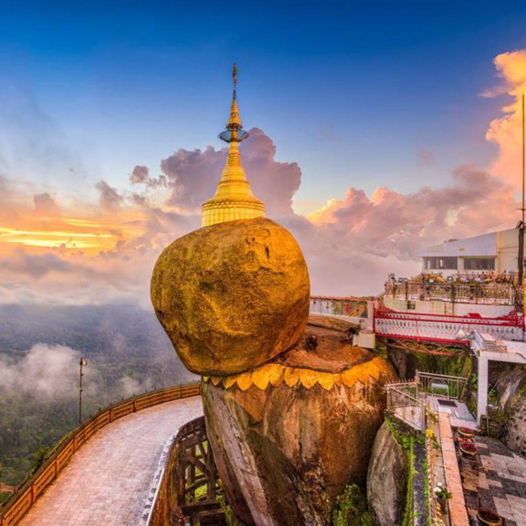 Golden Rock Myanmar Burma