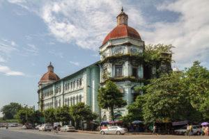 Currency Department Yangon