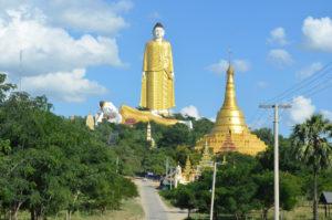 Monywa Myanmar Burma Giant Buddha Image