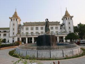 Yangon_Rangoon_Central Railway Station