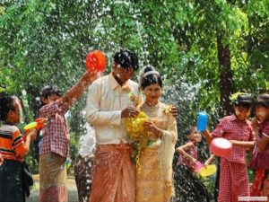 Myanmar New Year Water Festival