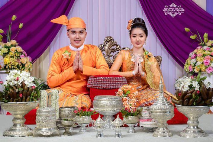 Myanmar Wedding Ceremony