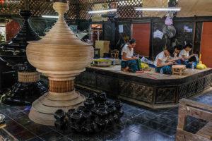 Lacquerware Bagan Myanmar